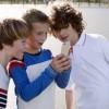 As crianças e o celular